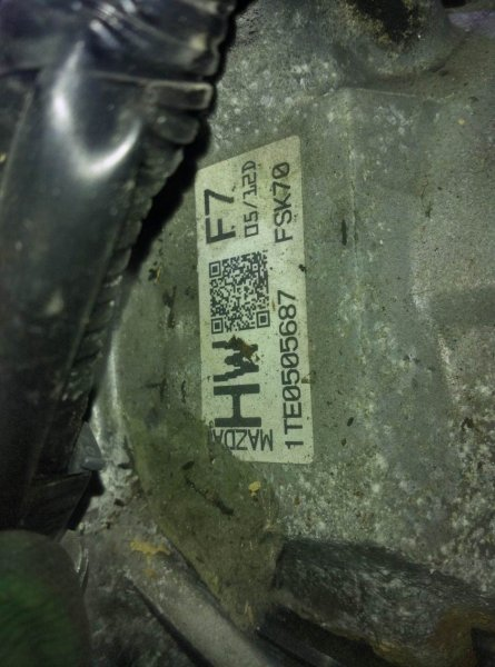 Акпп Mazda Premacy CWEFW LF-VD