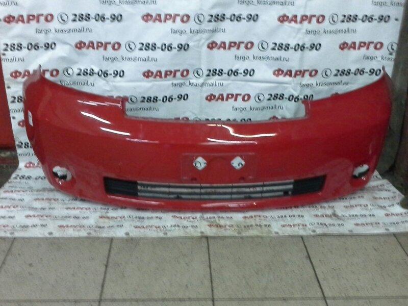 Бампер Toyota Porte NNP10 2NZ-FE передний