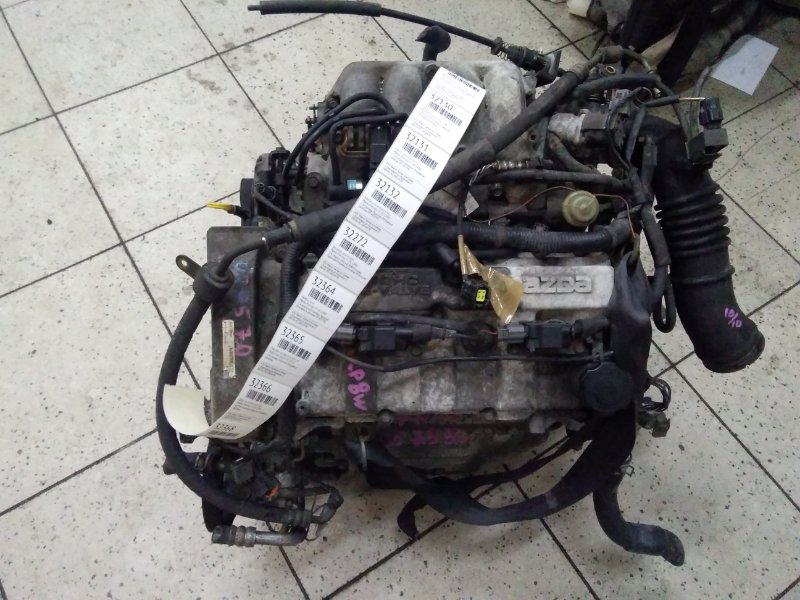 Шланг высокого давления Mazda Premacy CP8W FP-DE