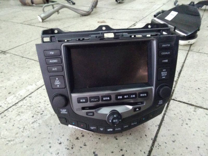 Магнитола Honda Accord Wagon CM2 K24A 2007