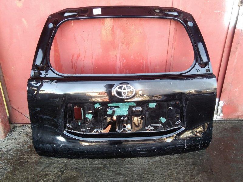 Дверь задняя багажника Toyota Land Cruiser Prado TRJ150 1GR 2009 задняя