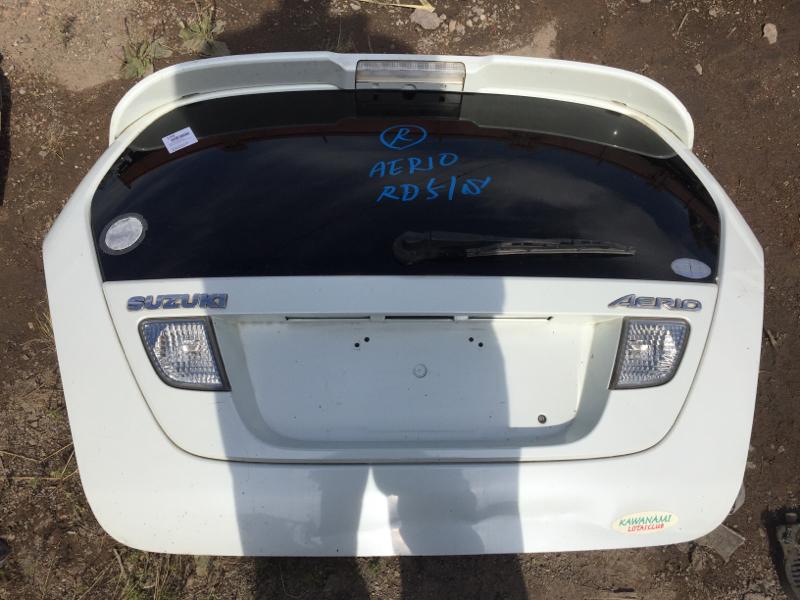 Дверь задняя багажника Suzuki Aerio RD51S M15A задняя