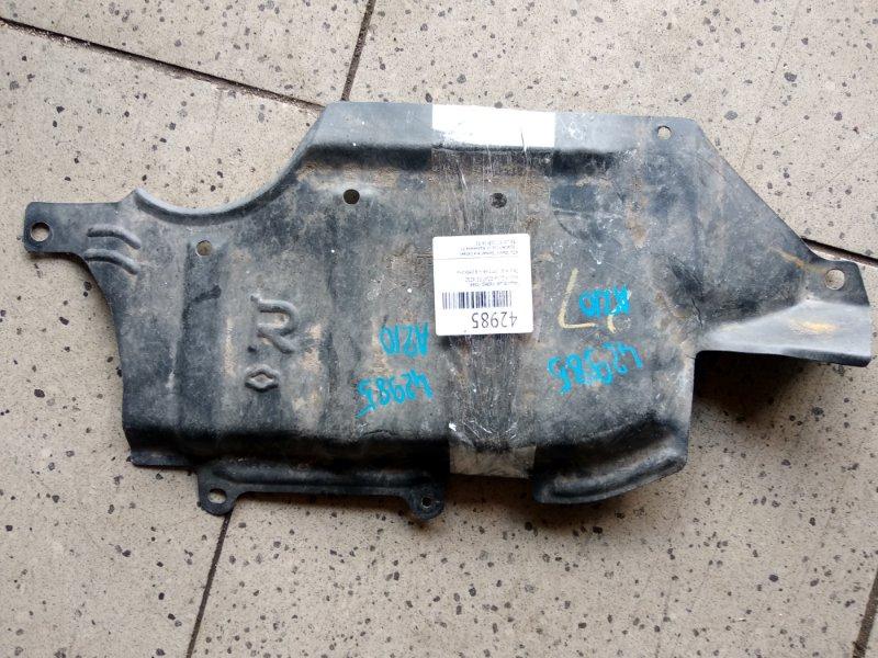 Защита двс Nissan Cube AZ10 CGA3DE передняя правая