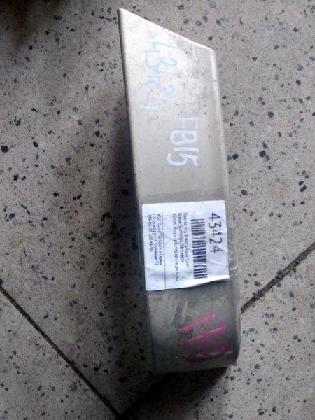 Планка под фонарь Nissan Sunny FB15 QG15DE задняя правая