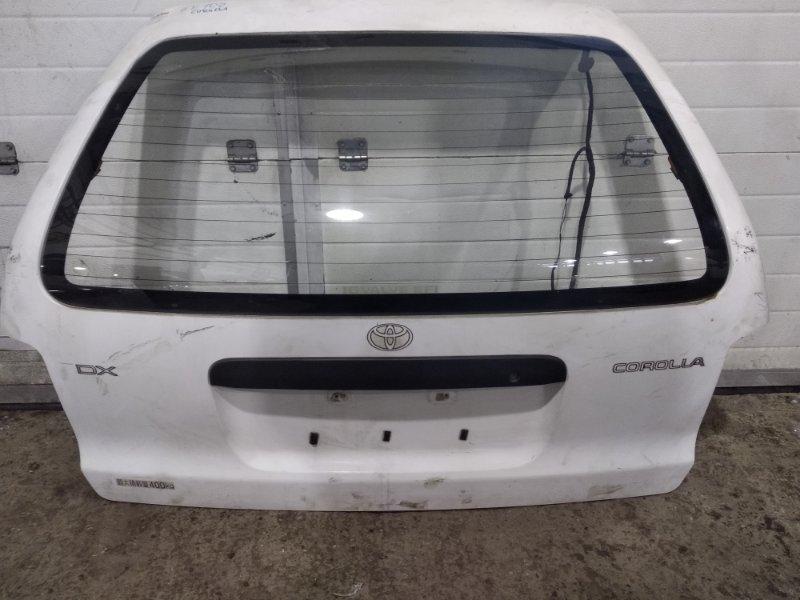 Дверь задняя багажника Toyota Corolla AE109V 4A-FE задняя