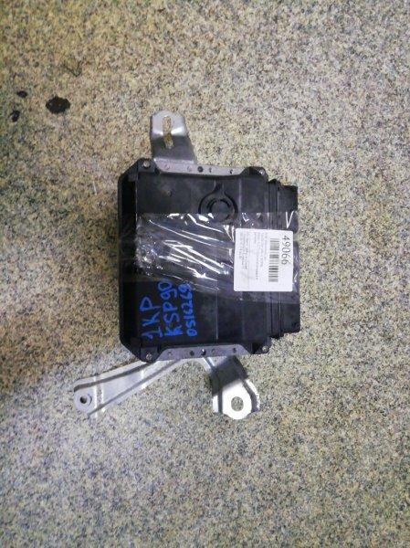 Блок управления двс Toyota Vitz KSP90 1KR-FE