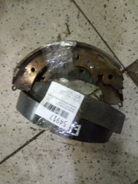 Колодки тормозные Honda Civic EU1 D15B задние