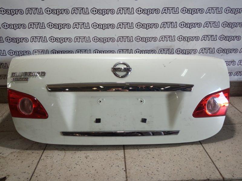 Крышка багажника Nissan Bluebird Sylphy KG11 MR20DE задняя