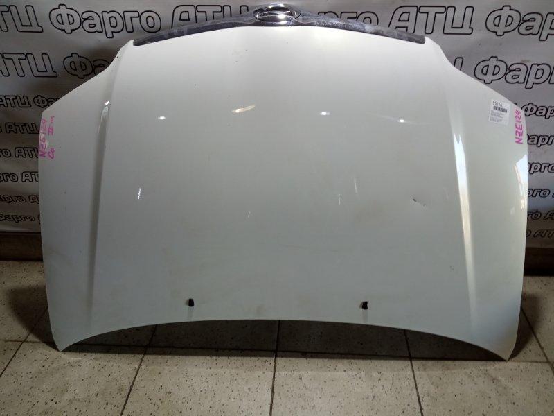 Капот Toyota Corolla NZE124 1NZ-FE