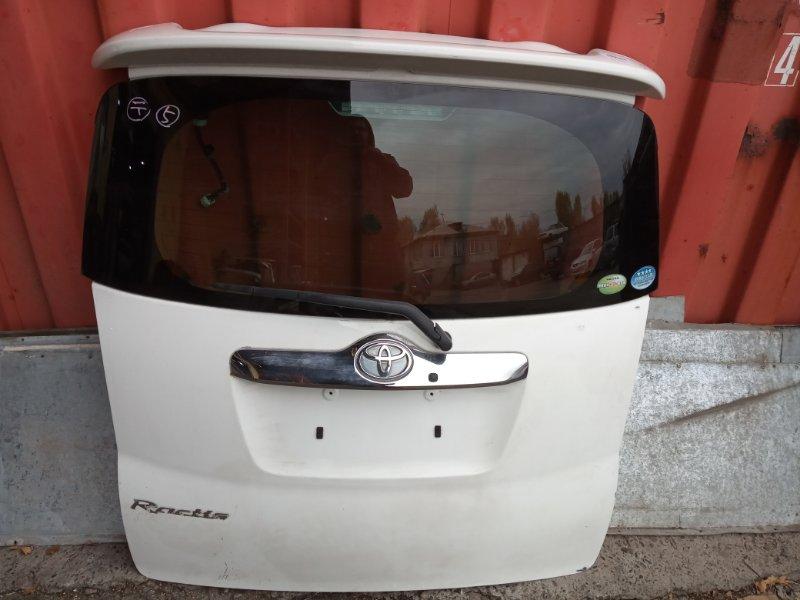 Дверь задняя багажника Toyota Ractis NCP100 1NZ-FE задняя