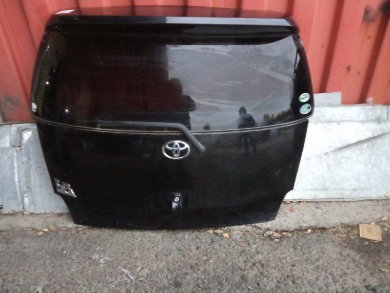 Дверь задняя багажника Toyota Bb QNC20 K3-VE задняя