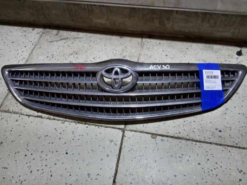 Решетка радиатора Toyota Camry ACV30 2AZ-FE передняя