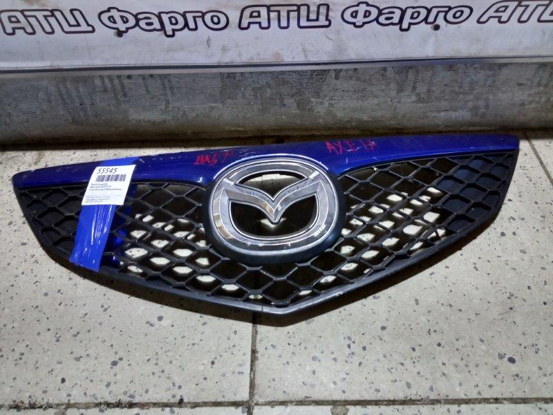 Решетка радиатора Mazda Axela BK5P ZY-VE передняя