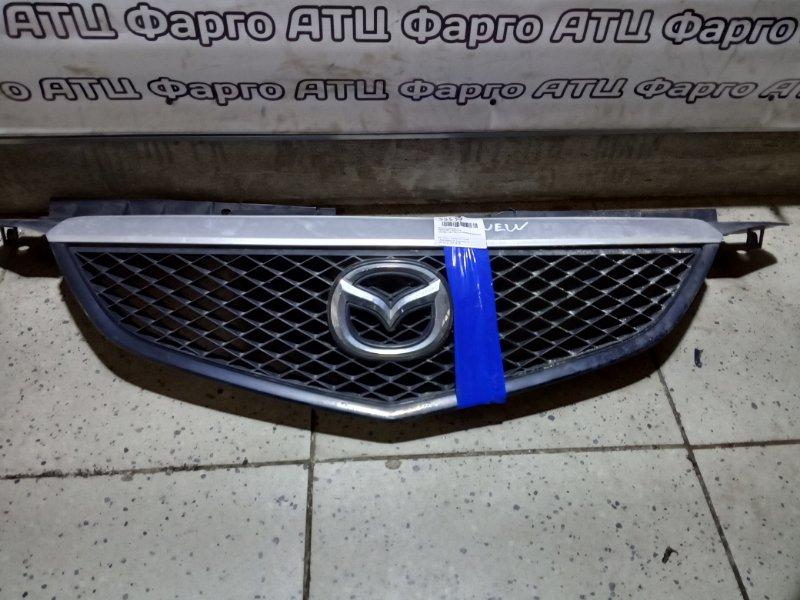 Решетка радиатора Mazda Mpv LWEW FS передняя