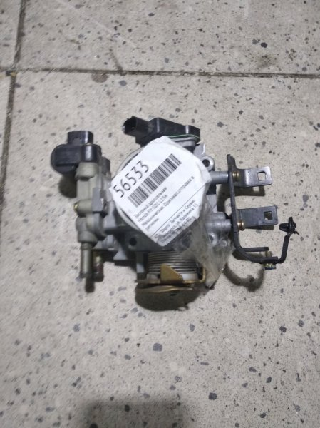 Заслонка дроссельная Honda Fit GD1 L13A