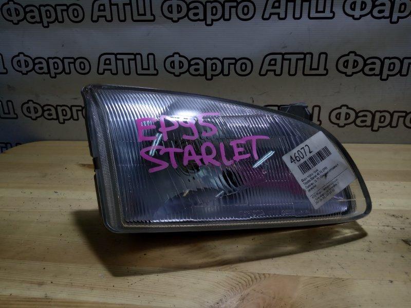 Фара Toyota Starlet EP95 4E-FE передняя правая