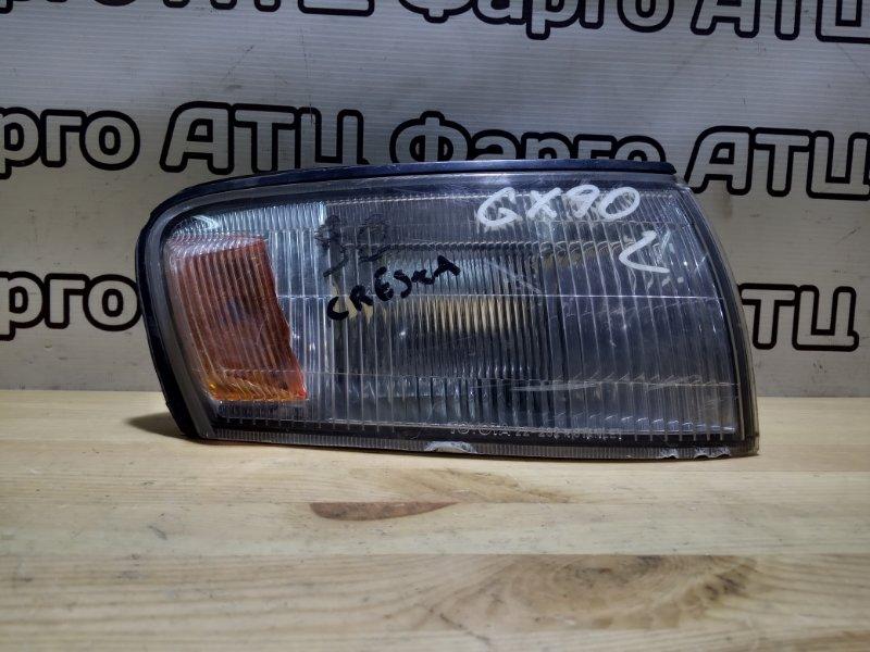 Габарит Toyota Cresta GX90 1G-FE передний правый