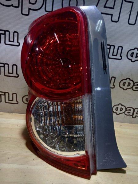 Фонарь стоп-сигнала Toyota Corolla Rumion ZRE152N 1NZ-FE задний левый