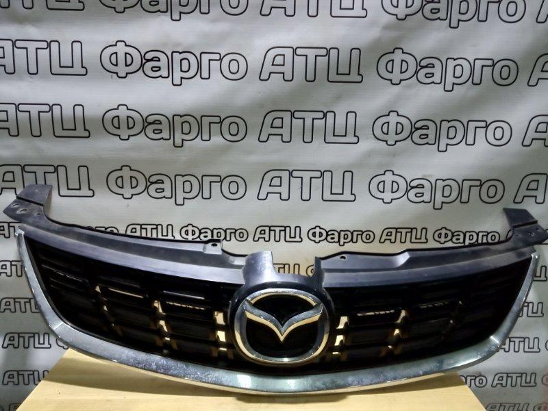 Решетка радиатора Mazda Mpv LY3P L3-VE передняя