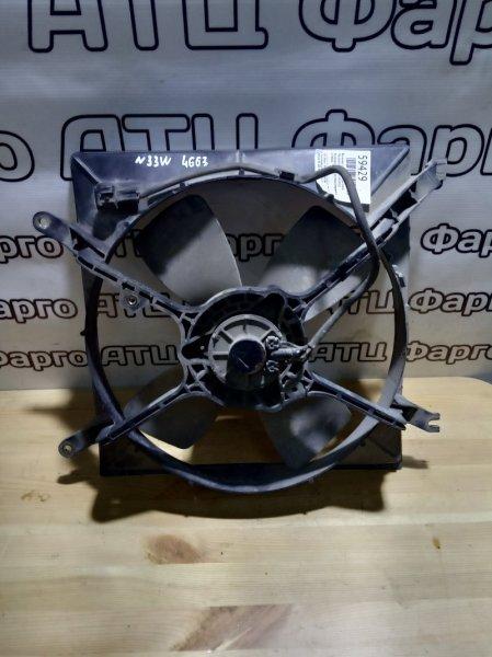 Вентилятор радиатора двигателя Mitsubishi Chariot N33W 4G63