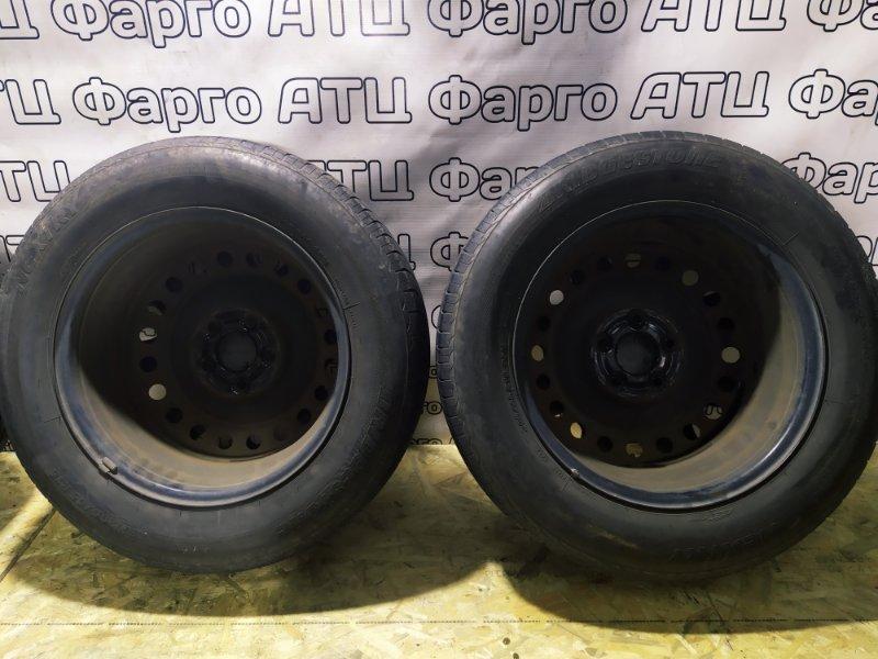 Колесо R16 / 205 / 65 Bridgestone Nextry 5x114.3 штамп. +50ET