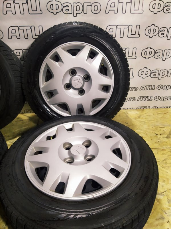 Колесо R15 / 185 / 65 Bridgestone Blizzak VRX 4x114.3 штамп. +55ET