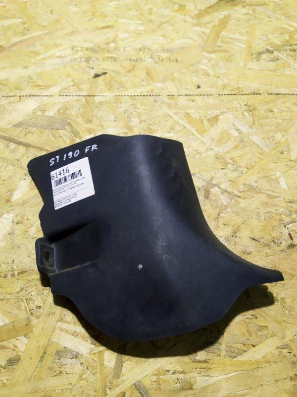 Пластиковые детали салона Toyota Caldina ST195G 3S-FE переднее правое