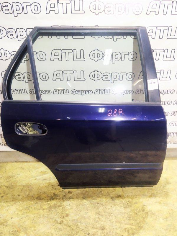 Дверь боковая Honda Orthia EL2 B20B задняя правая