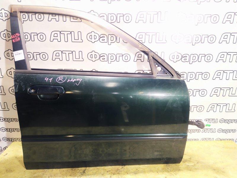 Дверь боковая Mazda Familia BJ5P ZL-DE передняя правая