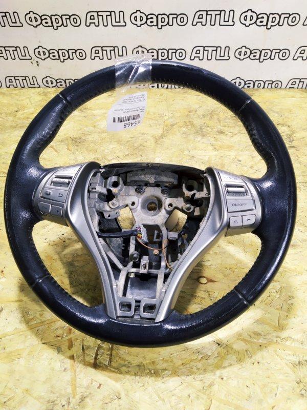 Руль Nissan Teana L33 QR25DE