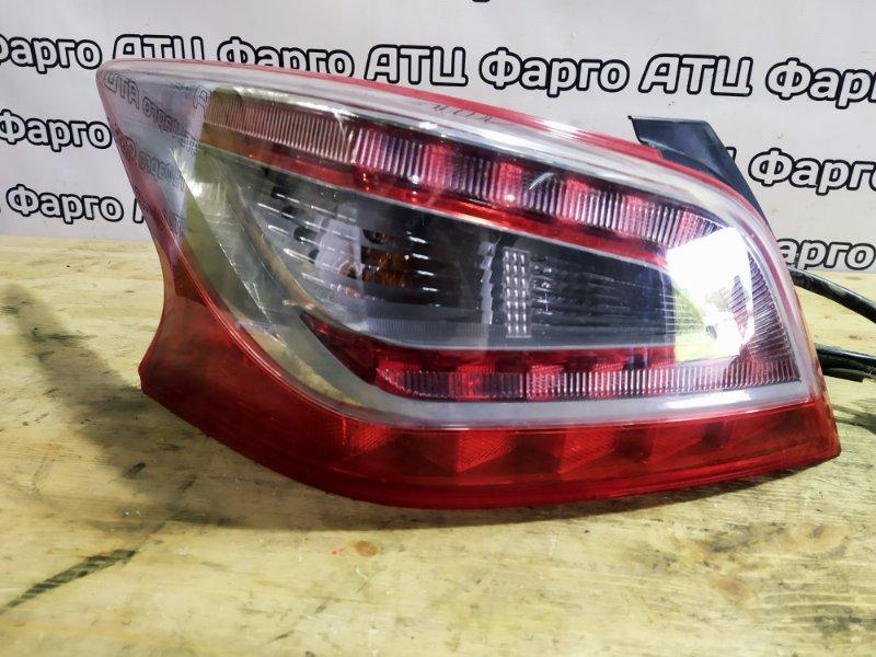 Фонарь стоп-сигнала Nissan Teana L33 QR25DE задний левый