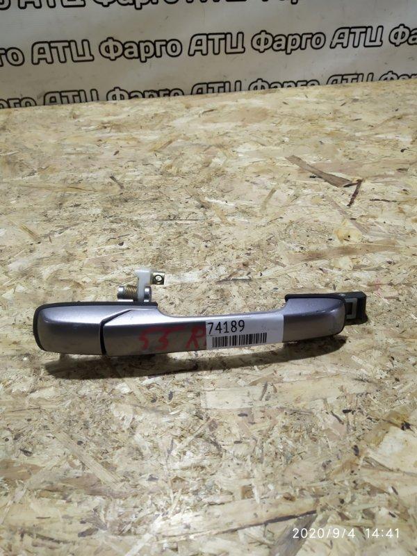Ручка наружная Honda Torneo CF3 F18B задняя правая