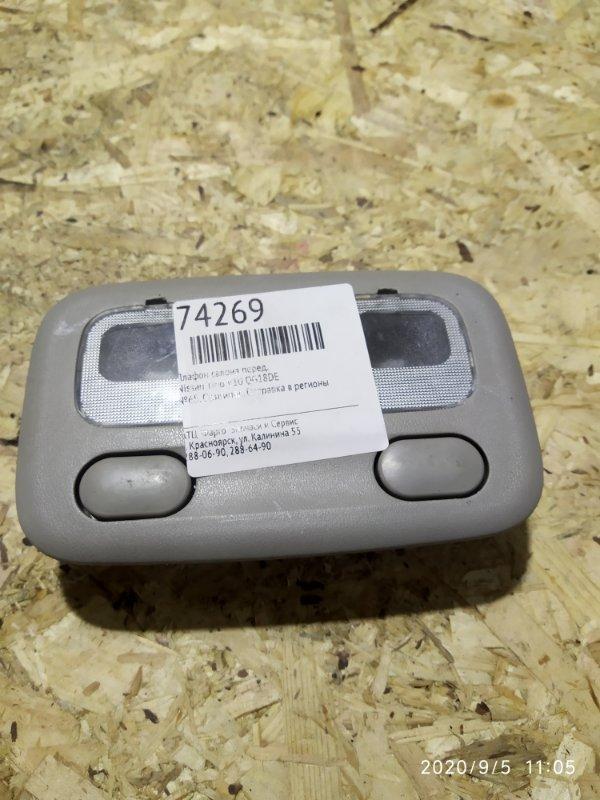 Плафон салона Nissan Tino V10 QG18DE передний