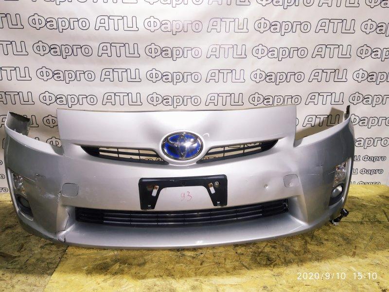 Бампер Toyota Prius ZVW30 2ZR-FXE передний