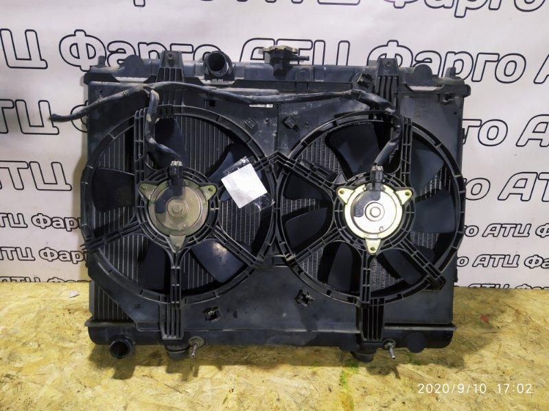 Радиатор двигателя Nissan Presage TNU30 QR25DE