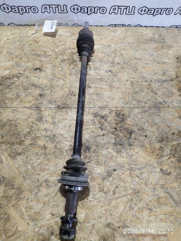Привод Nissan Presage TNU30 QR25DE задний правый