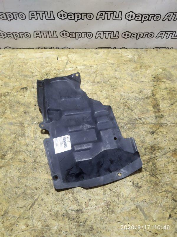 Защита двс Nissan Bluebird QU14 QG18DD передняя правая