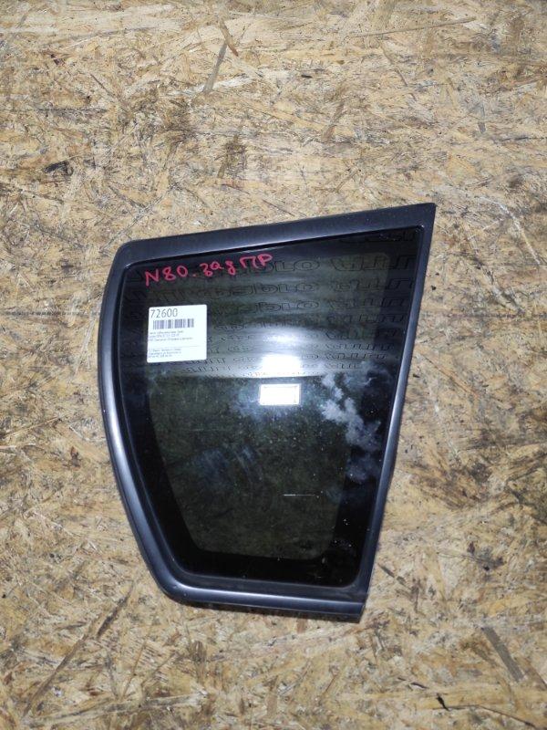 Стекло собачника Toyota Opa ZCT15 1ZZ-FE заднее правое