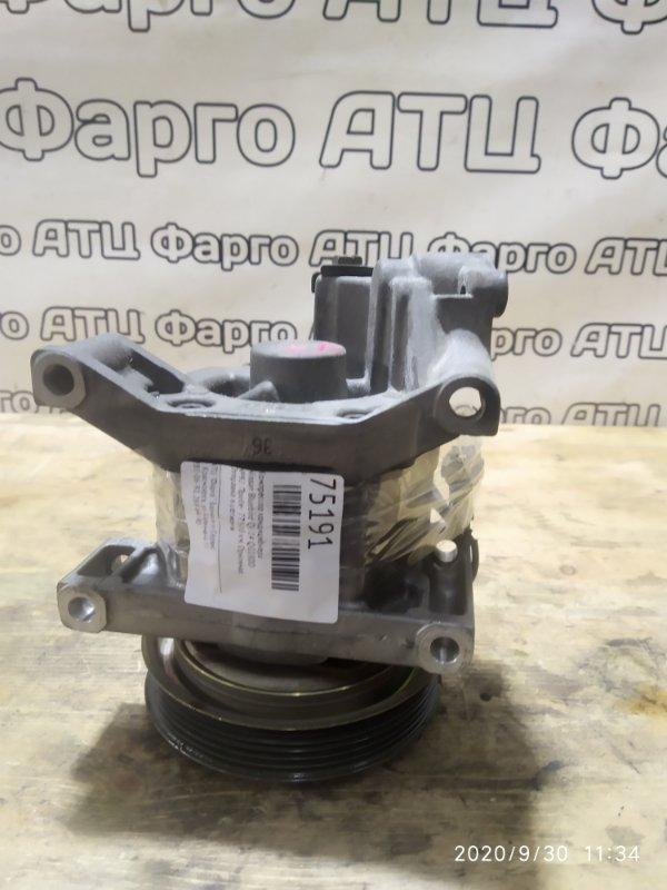 Компрессор кондиционера Nissan Bluebird QU14 QG18DD