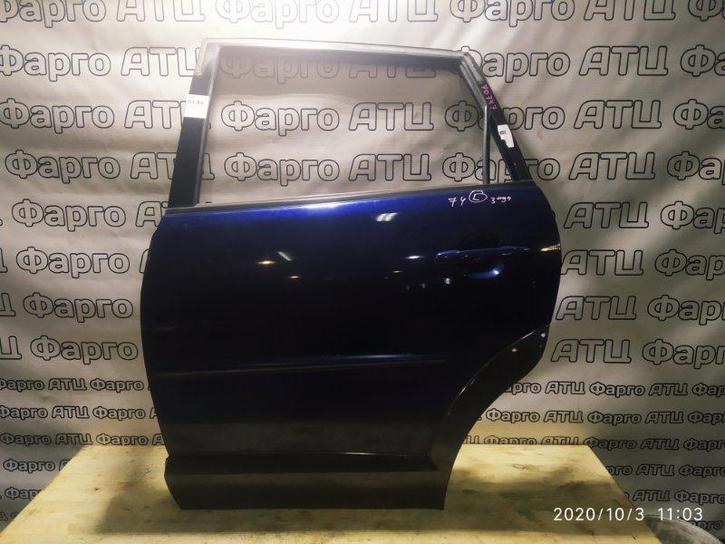 Дверь боковая Toyota Voltz ZZE136 1ZZ-FE задняя левая
