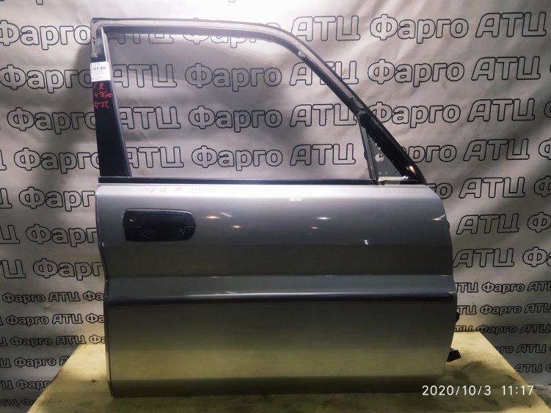 Дверь боковая Mitsubishi Pajero Io H76W 4G93 передняя правая