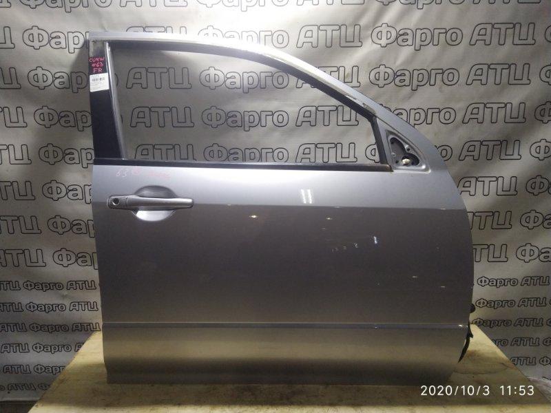 Дверь боковая Mitsubishi Airtrek CU4W 4G64 передняя правая