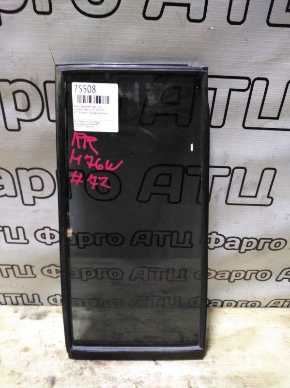 Форточка дверная Mitsubishi Pajero Io H76W 4G93 задняя правая