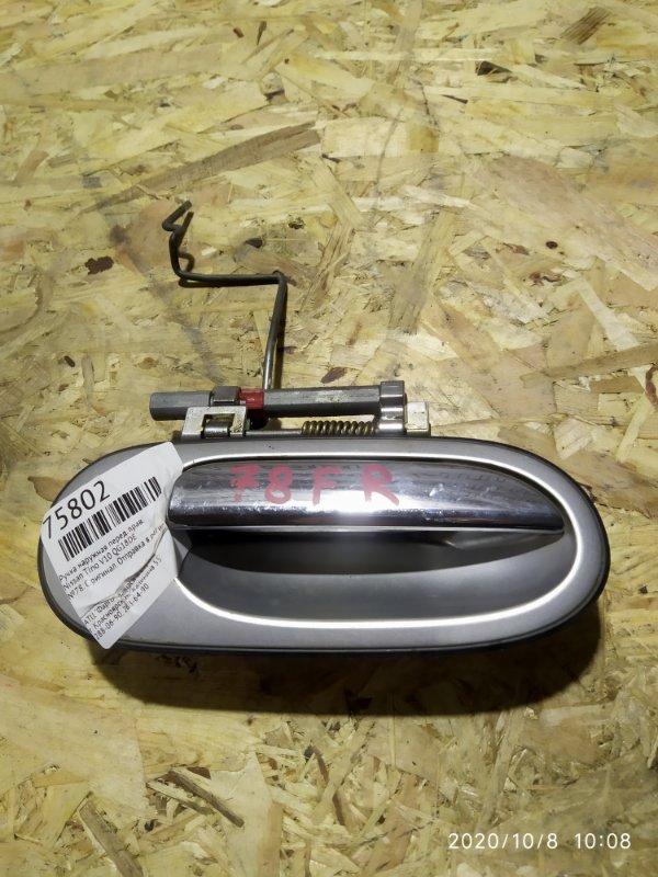 Ручка наружная Nissan Tino V10 QG18DE передняя правая