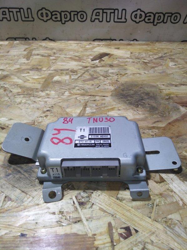 Блок управления кпп Nissan Presage TNU30 QR25DE