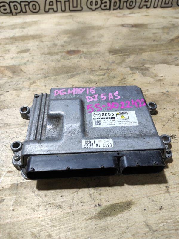 Блок управления двс Mazda Demio DJ5AS S5-DPTS