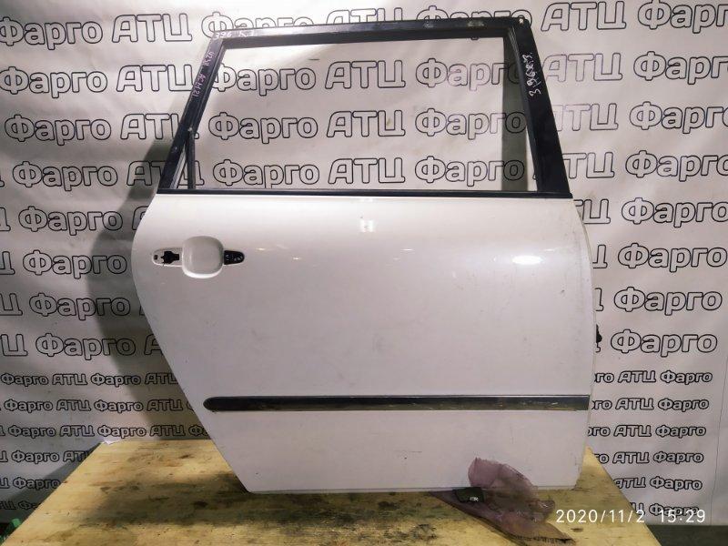 Дверь боковая Toyota Ipsum ACM21W 2AZ-FE задняя правая