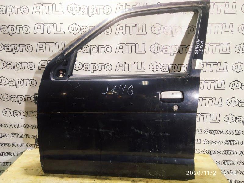 Дверь боковая Daihatsu Terios Kid J111G EF-DEM (EF) передняя левая