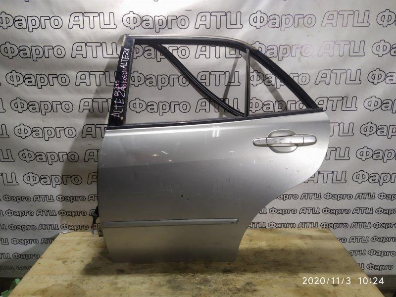 Дверь боковая Toyota Altezza GXE10 1G-FE задняя левая