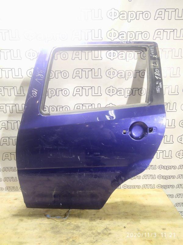Дверь боковая Daihatsu Yrv M201G K3-VE задняя левая
